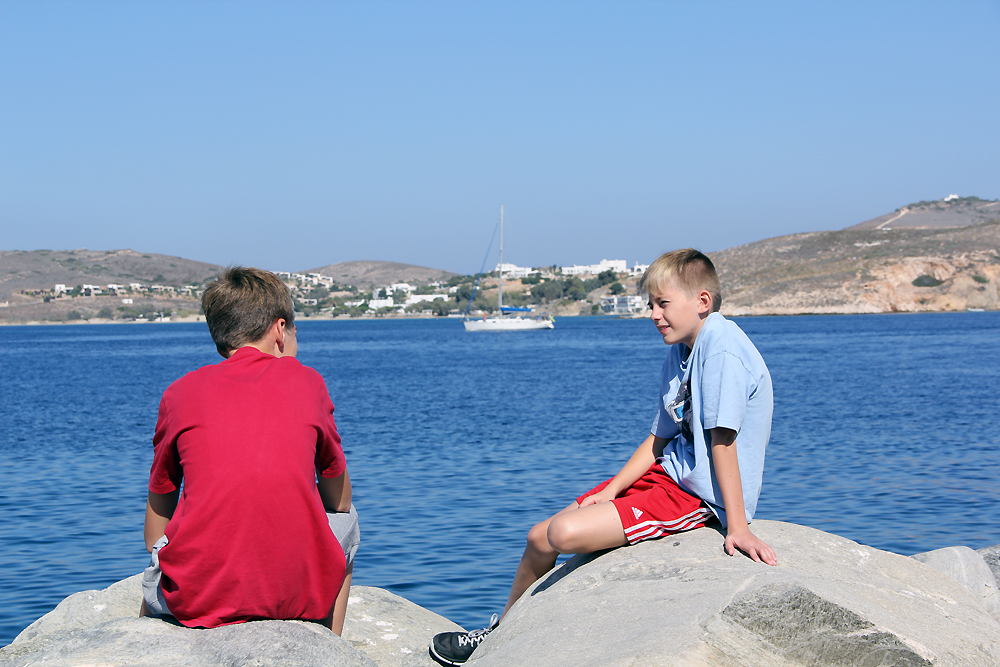 Greece - Paros - Björn & Thomas