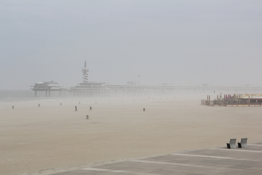 the Netherlands - Scheveningen - Places to Sit